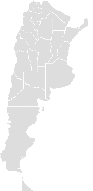 Printable Outline,Blank Map of ARGENTINA