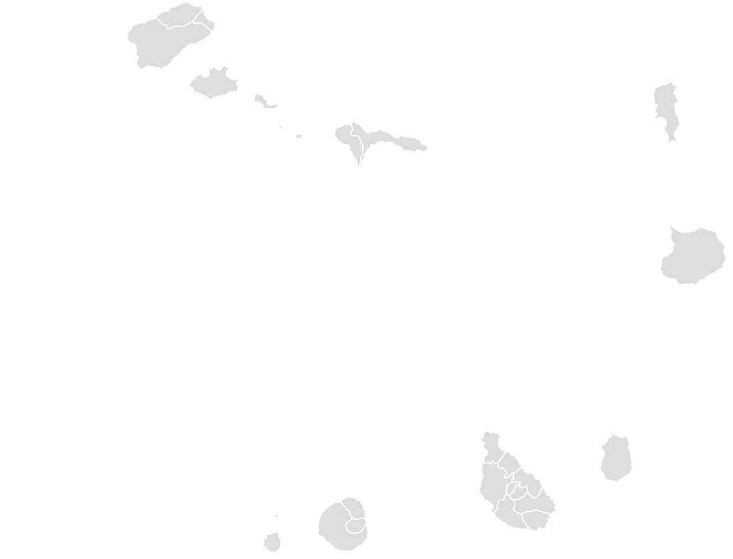 Printable Outline,Blank Map of CAPE_VERDE