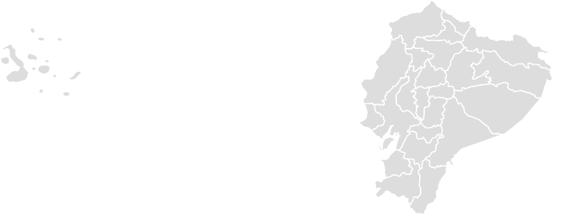 Printable Outline,Blank Map of ECUADOR