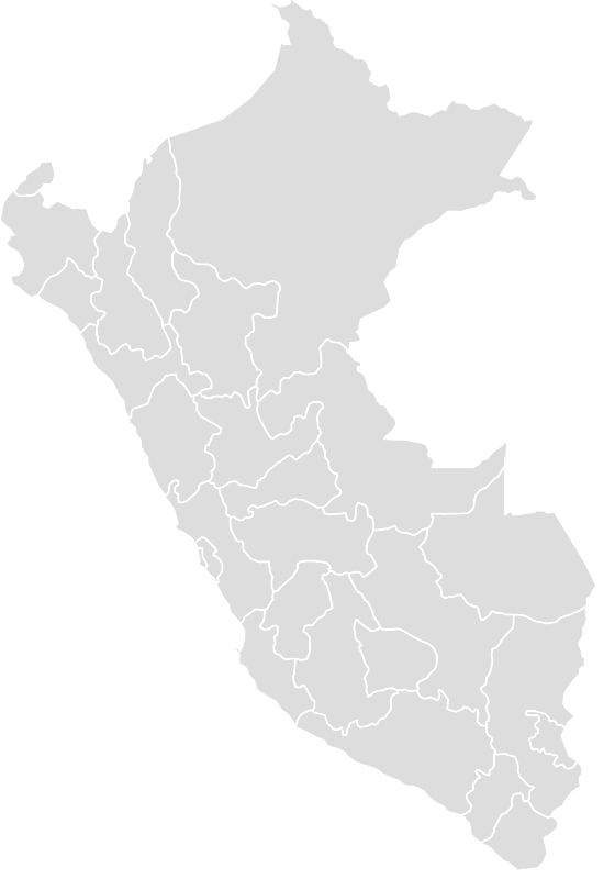 Printable Outline,Blank Map of PERU