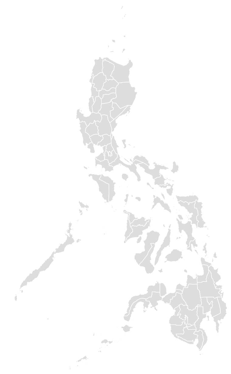 Printable Outline,Blank Map of PHILIPPINES