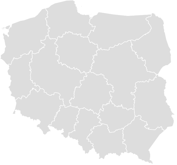 Printable Outline,Blank Map of POLAND