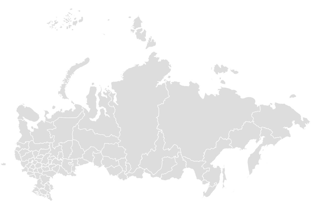 Printable Outline,Blank Map of RUSSIA