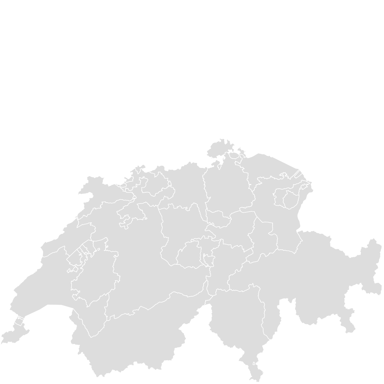 printable outlineblank map of switzerland