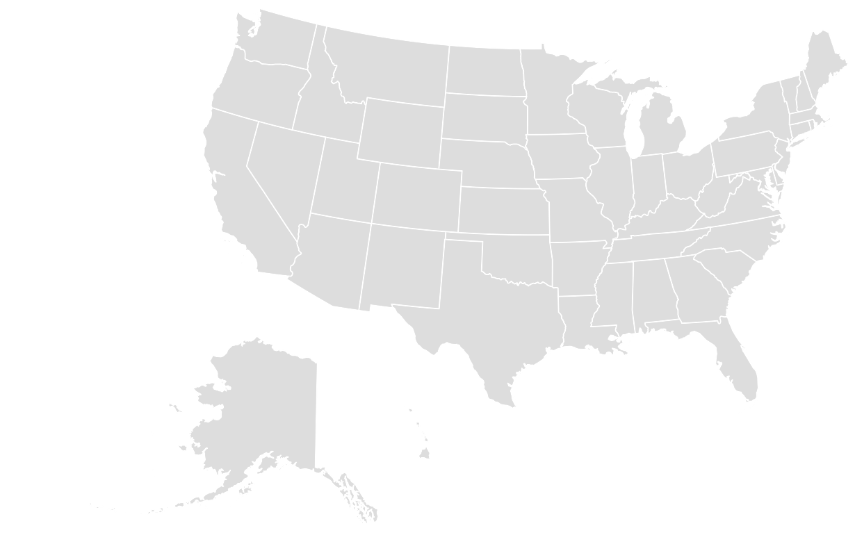 Color online us map - Printable Outline Blank Map Of Usa
