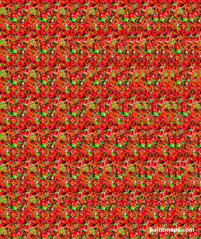 FINLAND Map in 3D Stereogram (Magic Eye)