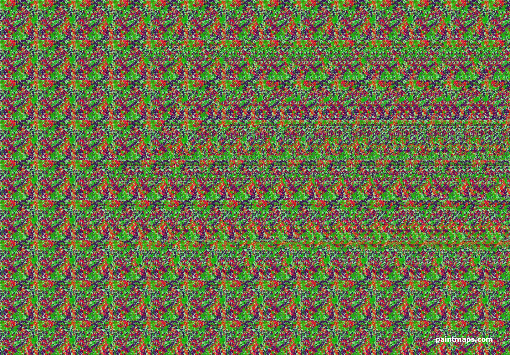 RUSSIA Map in 3D Stereogram (Magic Eye)