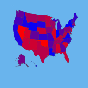 Create USA and States Maps Charts
