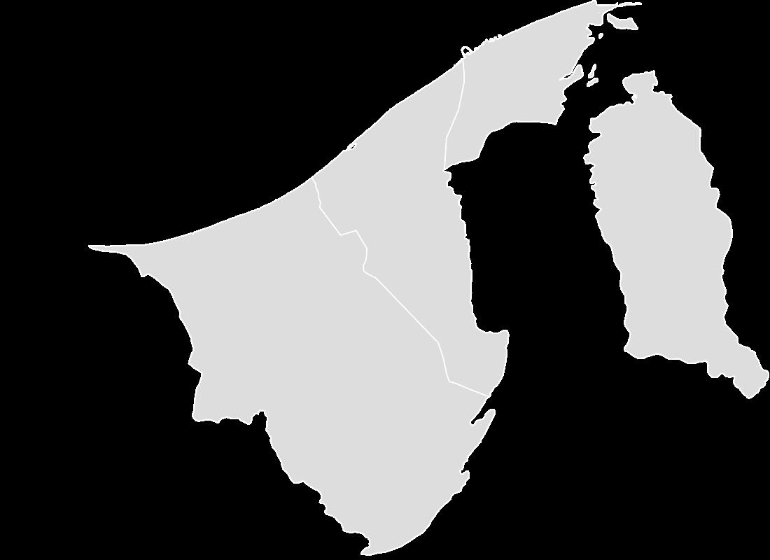 Brunei Blank Map Maker Printable Outline Blank Map Of
