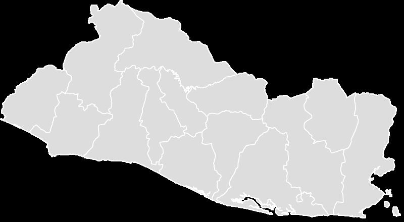 EL_SALVADOR Blank Map Maker - Printable Outline , Blank ...