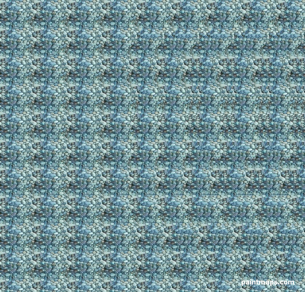 ALBANIA Map in 3D Stereogram (Magic Eye)