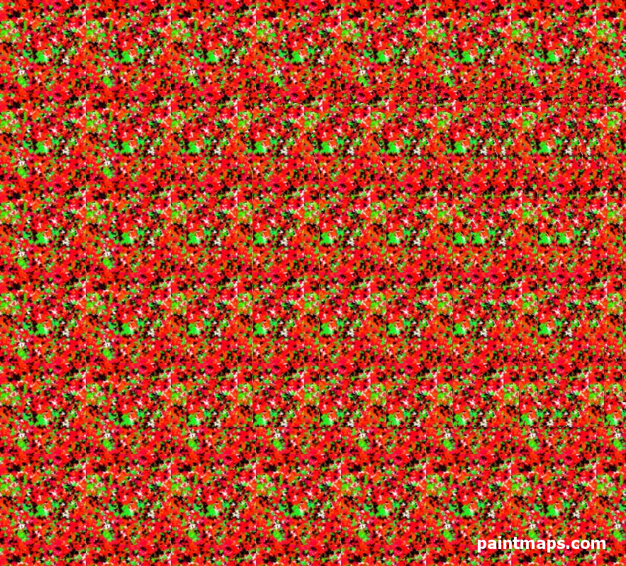 EGYPT Map in 3D Stereogram (Magic Eye)