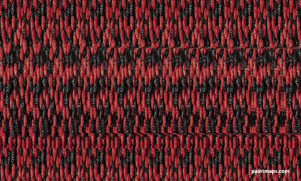 Kansas Map in 3D Stereogram (Magic Eye)