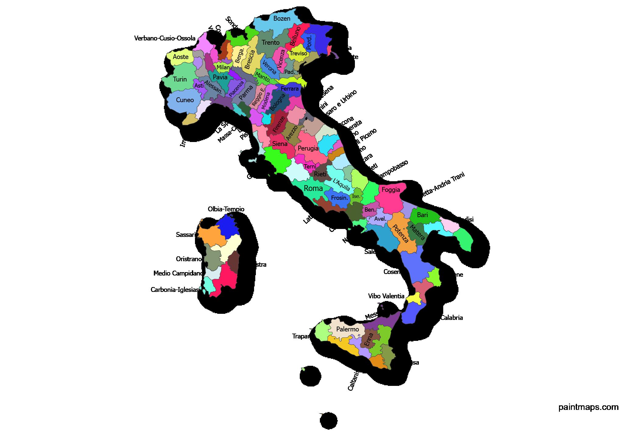 Ucretsiz Italya Haritasi Vektorel Eps Svg Pdf Png Adobe